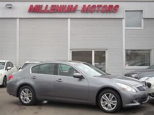 2010 Infiniti G37X LUXURY AWD / LEATHER / SUNROOF / B.CAM / LOAD
