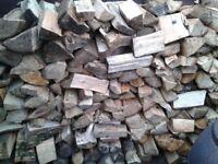 Large Builders Bag Of Logs.