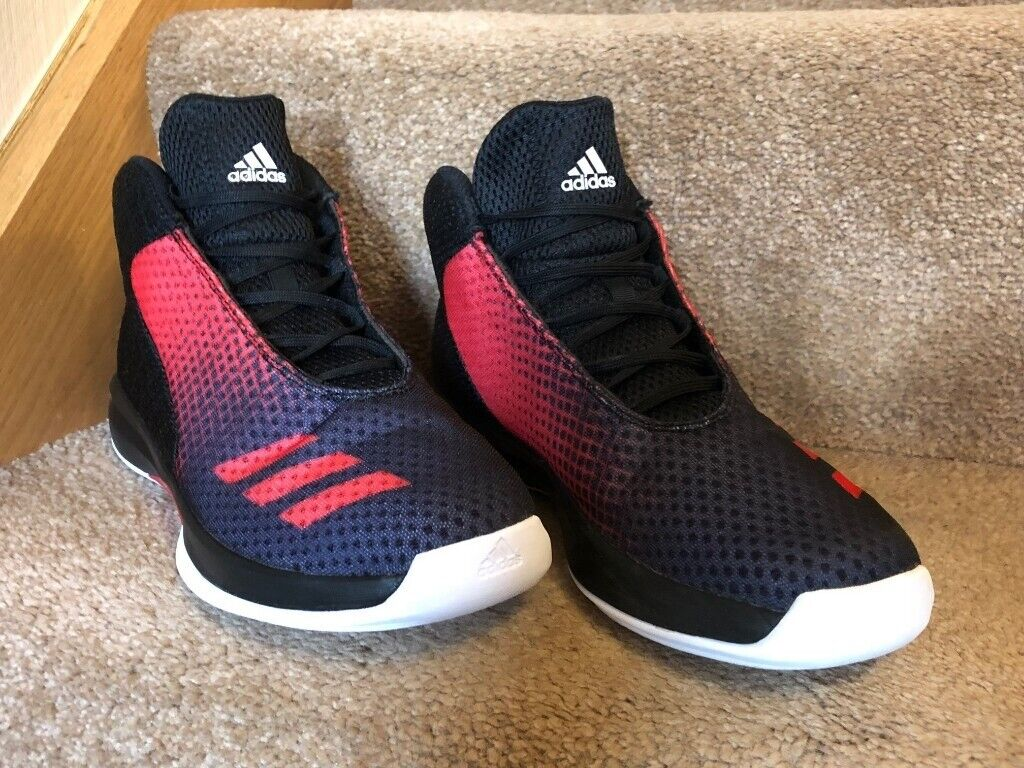 7f39efc74b7 Adidas Court Fury Basketball Shoes Boots Size 8 UK – As New