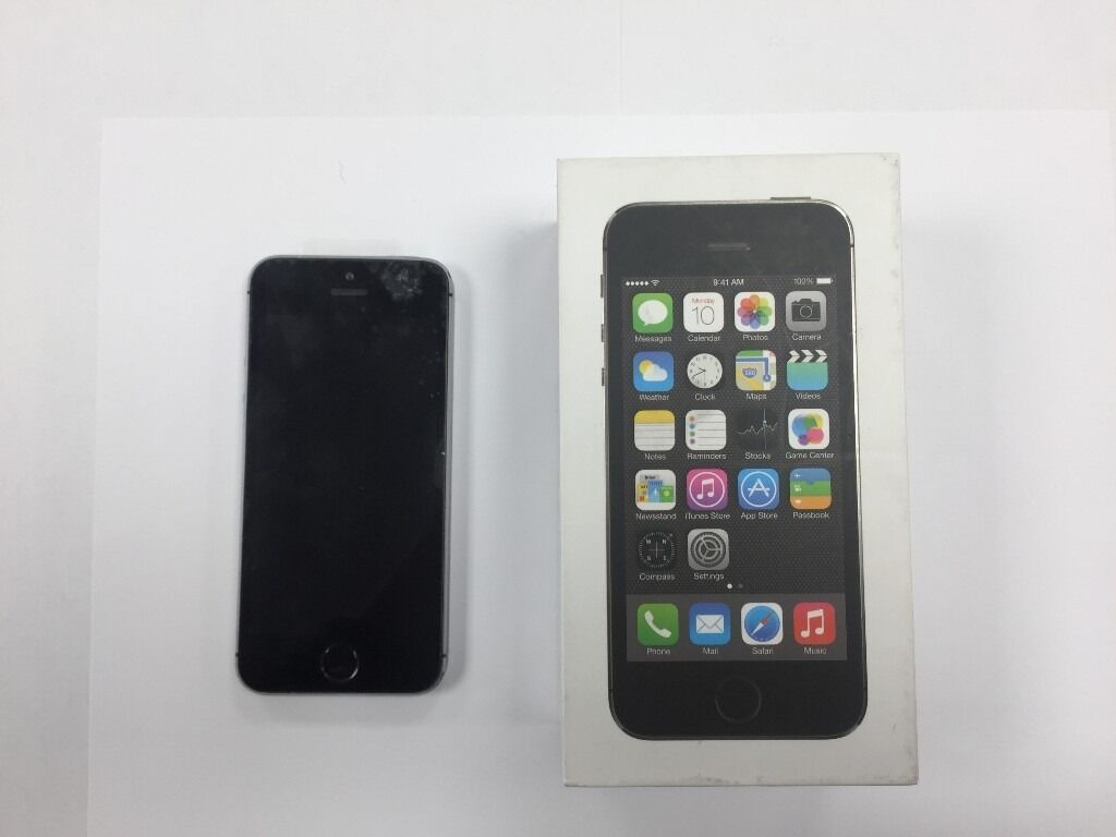 iPhone 5s Black 16GBin Chingford, LondonGumtree - iPhone 5s For Sale Black 16GB Mint Condition Locked to 02 (will work with giffgaff sim also) Comes With Box & All Accessories (Charger, Headphones etc.)
