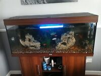 4 foot juwell aquarium on matching stand