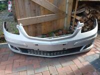 Mercedes b class front bumper with spotlights