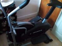Exrecise bike /cross trainer