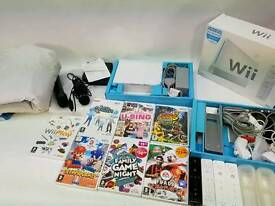 Large Wii bundle with Dance Mat, mics and 4 controllers