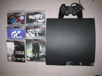 Playstation 3, Logitech force feedback wheel/pedals + 6 games