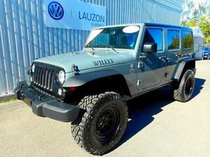 2014 Jeep Wrangler Unlimited Sport willys