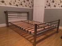 DOUBLE BED FRAME FREE DELIVERY IN LIVERPOOL