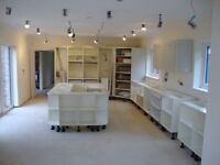 Rigid kitchen units made to order in Norwich. Doors from leading UK and Italian manufactures.