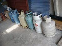 Calor Gas Bottles x6