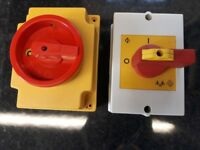 4 POLE ROTARY ISOLATORS IP65 RATED (X4)