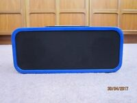 Blue iPod iPhone Speaker Dock by Acoustic Solutions