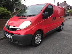 Vauxhall vivaro 2.0cdti 115bhp 2014 ***NO VAT