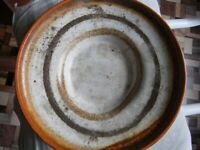 OLD CERAMIC PLATE