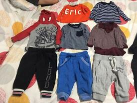3-6 months baby boy cloths bundle