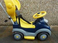 Toddler Ride On/Push along car. Good condition.