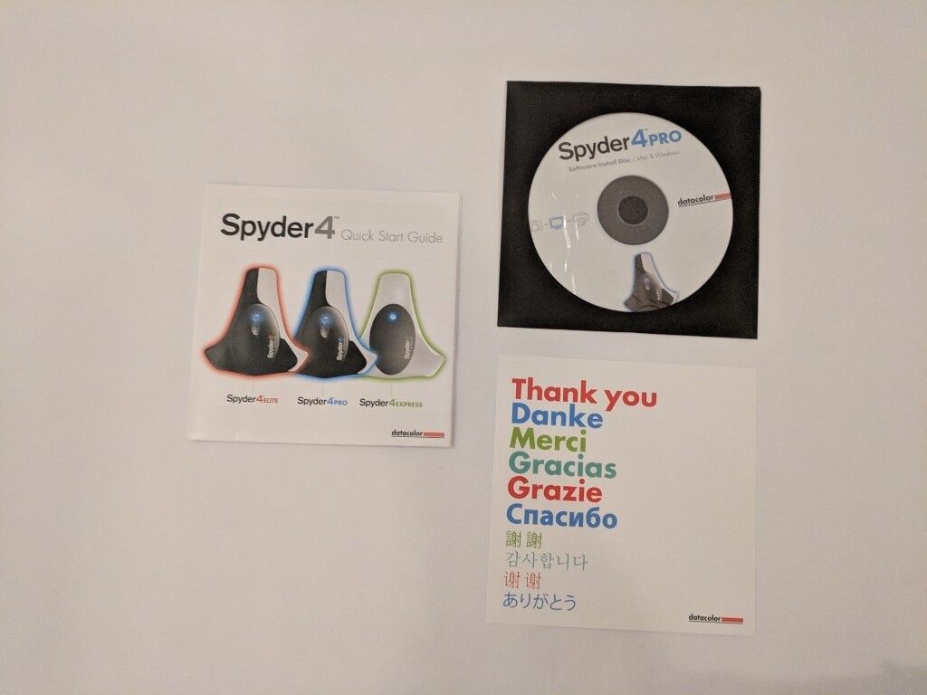 Monitor Screen Calibrator Correct Colour Printing Spyder4 Pro Photography  Prints Graphic Design | in Bournemouth, Dorset | Gumtree