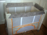 Hauck travel cot - High Quality Portable Cot-MADE IN GERMANY