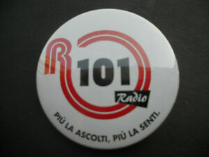 PIN / SPILLETTA / SPILLA TONDA RADIO R101 - Italia - PIN / SPILLETTA / SPILLA TONDA RADIO R101 - Italia
