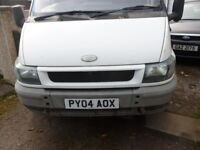 ford transit 5 speed gearbox 2004 year