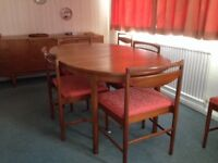 McIntosh Extending Dining Table and Chairs