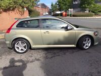 2008 '08' Volvo C30 1.6D Sport R design Mot April 18 Beautiful Car