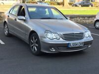 2005 MERCEDES C220 CDI * MANUAL * SPARES REPAIRS * ENGINE SMOKING * PART EX TO CLEAR * DELIVERY *