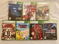 Xbox 360 - 7 games bundle