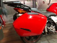 Honda VFR800 VTEC panniers and rails.