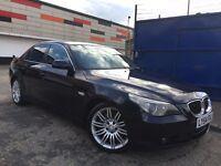 BMW 5 Series 3.0 530d Full Service History SatNav Comfort Leather Seat, 3 Months Warranty