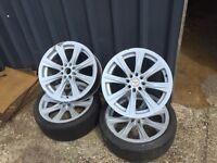 "Honda 17"" 4 stud alloy wheel"