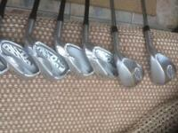 Set of irons in great condition.
