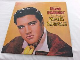 "Elvis Presley King Creole Album 12"" Immaculate on RCA Orange Label."