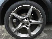 "Vauxhall Astra 18"" Penta alloy wheels"