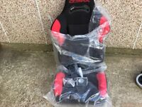 cobra reclining racing seat with lumber support brand new £75