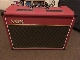 Vox AC15 (Red, Limited Edition of 1000)