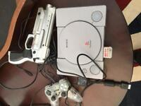 PlayStation one and gameboy colour