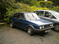 mark one golf cabroliet 1984 model gti lookalike full mot great xmas present