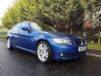 2009 BMW 3Series 320D SE 177BHP 6SPEED Le MANS BLUE METALLIC LOVELY EXAMPLE ! SUPERB MOTORING !