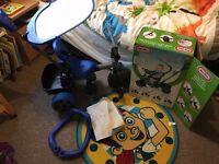 4 in 1 blue trike £35 ONO