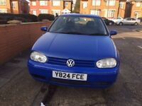 VW Golf Gt Tdi , Manual, Diesel, 5 Doors ,MOT 17 Jun 2018 , Leather Seats
