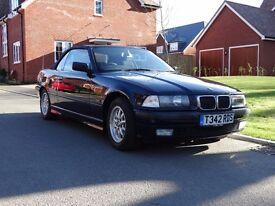 1999 convertible BMW 318i
