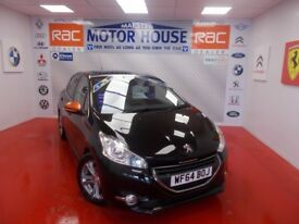 Peugeot 208 E-HDI ROLAND GARROS(£0.00 ROAD TAX) FREE MOT'S AS LONG AS YOU OWN THE CAR!! 2014