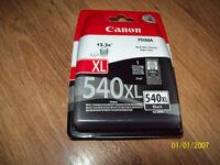 Canon 540XL genuine black printer ink for sale