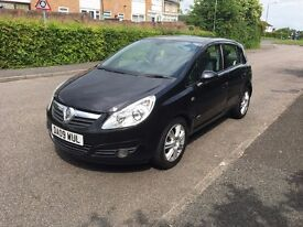VAUXHALL CORSA 1.2 DESIGN 1 PRIVATE LADY OWNED FROM NEW WITH HISTORY SUPERB IN JET BLACK