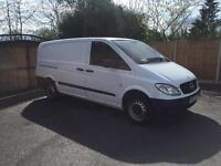 2010-10-Reg Merceds vito 109cdi long wheel base model Free nationwide UK delivery