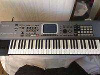 Roland Fantom-S 61 Keyboard Workstation Synthesizer/ Sequencer/ Sampler