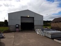 Large shed space for rent. Dunipace.
