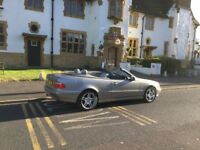 Mercedes clk cabriolet automatic sports full leather automatic convertible