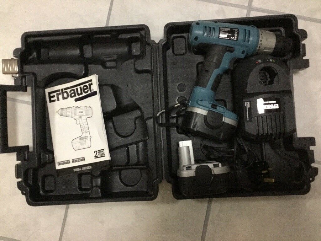 Cordless Drill Driver with case. Hardly used excellent condition