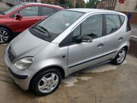 2003 Mercedes-Benz A Class A140 Manual 1.4 Classic Hatchback. Very low mileage.